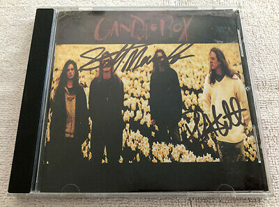 Candlebox Self Titled CD Signed S/T Far Behind You Autographed Grunge
