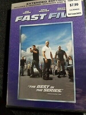 Fast Five (DVD - Widescreen) ~ New & Factory Sealed!