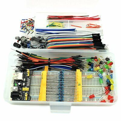 458pcs - HJ Garden Electronic Component Assorted Kit for Arduino, Raspberry Pi