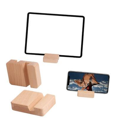 Universal Wooden Mobile Phone Holder Stand Desk Table Tablet for Samsung iPhone