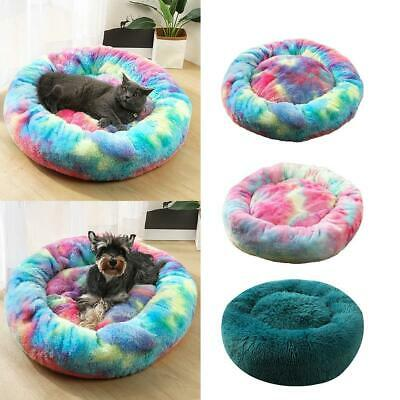 Pet Dog Bed Mat Round Step-On Plush Mattress Warm Pet New Bed Cats For Dogs OF