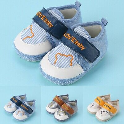 Toddler Kids Baby Boy Girl Sneakers Pram Shoes Infant Trainers Size Newborn