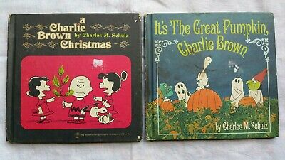Charlie Brown Books x 2 First Printing 1965