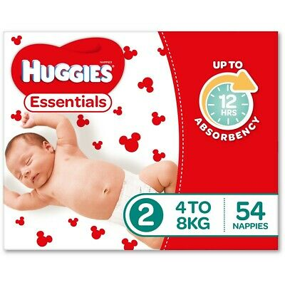 Huggies Essential Nappies - Infant Size (Stage 2)