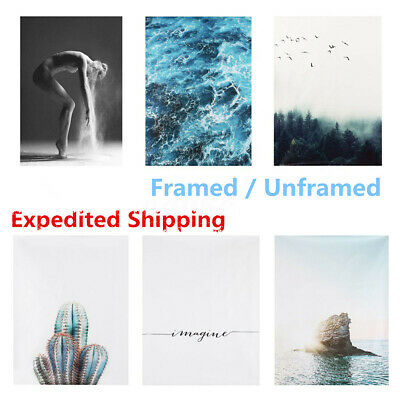 Modern Abstract Canvas Print Painting Picture Wall Hanging Decor