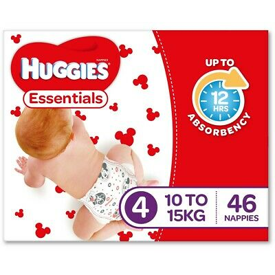 Huggies Essential Nappies - Toddler Size (Stage 4)