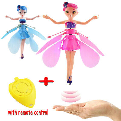 Flying Princess Fairy Magic Cute Doll Action Figure Electric Induction & Control