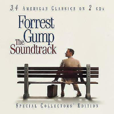 Forrest Gump [Remaster] by Original Soundtrack (CD, 2001, 2 Discs, Sony)