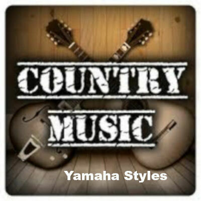 """Styles For YAMAHA Tyros & PSR  """"Special Country"""" Download - New !"""