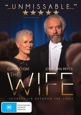 The Wife (DVD, 2018) NEW
