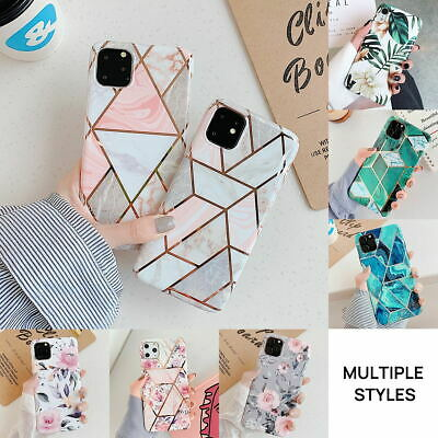 iPhone 11 Pro Max Case Soft TPU Case Marble Shockproof Silicone Gel Cover
