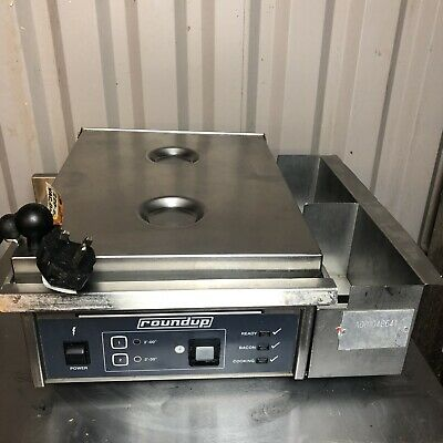 Roundup Egg Station Commercial Countertop Griddle