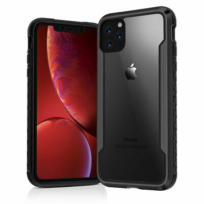 Defense Shield Case Military Grade PC Metal Hybrid Cover For iPhone 11 Pro Max