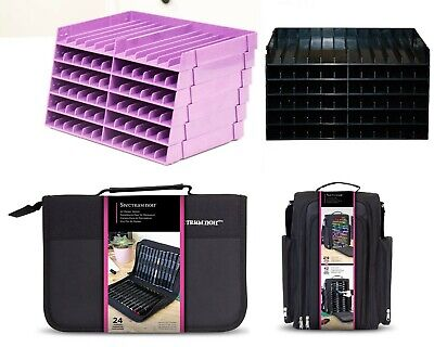 Crafters Companion Spectrum Noir Storage - Trays, Marker Wallet or Carry Case