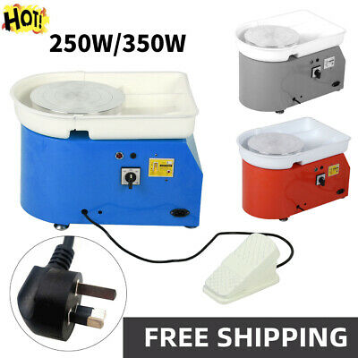 350W Electric Pottery Wheel Ceramic Machine Work Clay Art Craft Free Accessories