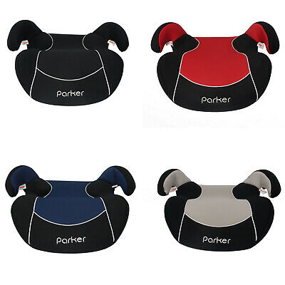 Various Parker Child Toddler Kids Age 5-12 Safety Cushion Booster Seat Group 2/3