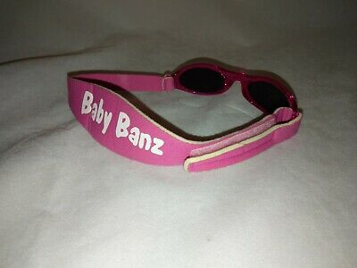 Baby BANZ Sunglasses PINK Baby BANZ Excellent Condition
