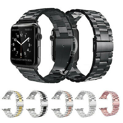 Replacement For Apple Watch Series  5 4 3 2 1 Bracelet Strap Metal Band 38-44mm