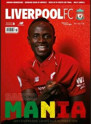 Liverpool FC – May 2019 (Issue 81) Official Club Magazine BRAND NEW