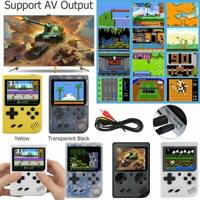 3'' RS-6 8 Bit Handheld Video Game Built-In 168 Games Portable Console Player