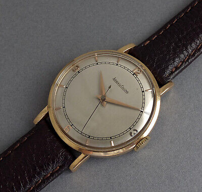 JAEGER LECOULTRE 18K Solid Gold Vintage Gents Watch c1950