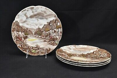 Johnson Brothers Olde English Countryside Set of 4 Dinner Plates