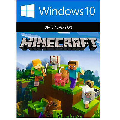 Minecraft Windows 10 Edition Region Free PC GAME, Instant Delivery 24/7
