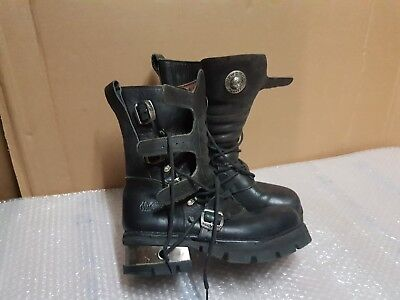 New Rock Boots - Gothic Metal Style - Low Miles