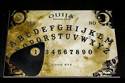 Wooden Ouija Board game with Planchette and detailed instruction for Spirit Hunt