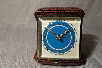 Travel Alarm Clock Made in Germany Vintage