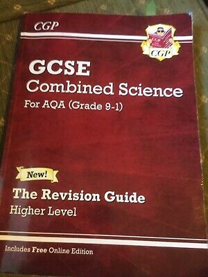 CGP GCSE Revision Book Combined Science AQA Higher Level