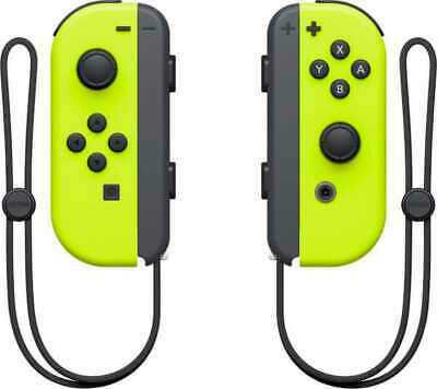 Nintendo Switch Joy-Con Controller Joypad Wireless Bluetooth Giallo Neon 2511766