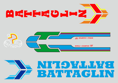Decals 0315 Battaglin Bicycle Stickers Transfers