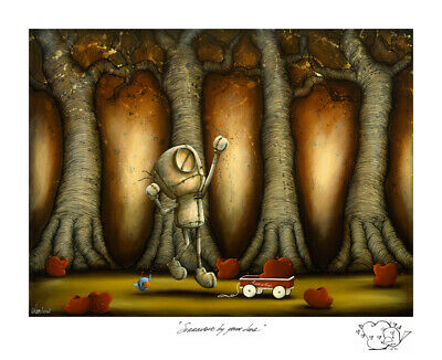 """Fabio Napoleoni """"Surrounded by Your Love"""" Limited edtion art"""