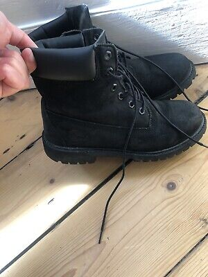 WOMENS BLACK TIMBERLAND Boots Size 6 EUR 31,44 | PicClick FR
