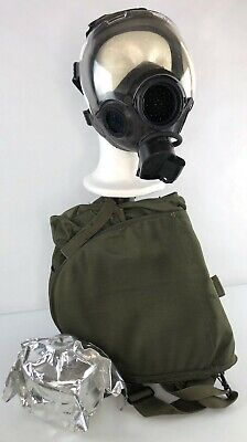 MSA Millennium Riot Control Safety Respirator / Gas Mask + Bag Filter 10051287 M