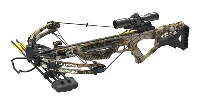 2019 PSE Coalition Crossbow Package Camo 380 FPS