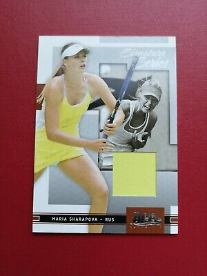 Maria Sharapova Ace Authentic Limited Edition Match Worn Tennis Trading Card