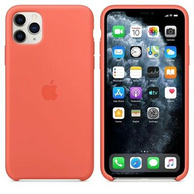 Original Silicone Case For Apple iPhone 11 11Pro 11ProMax Genuine OEM Cover
