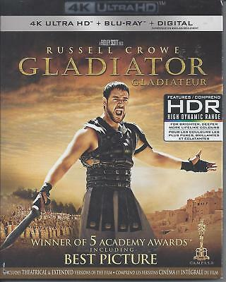 Gladiator (4K Ultra Hd/Bluray)(3 Disc Set)(Used)