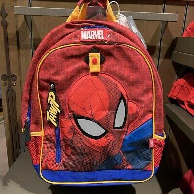 Authentic Disney Store Spider man Backpack Bag Disneyland park exclusive