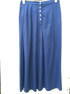 EAST INDIA CO ONE SIZE 100% Rayon Full Length Part Elastic Waist Skirt Exc Cond
