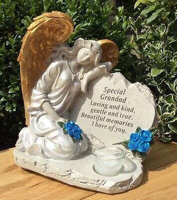 Special Grandad Angel Ornament Graveside Memorial Remembrance Cemetery Gift