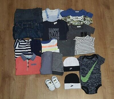 💙 Baby Boys Bundle Of Clothes Age 0-3 Months Next Nike Adidas Gap Baker H&M 💙