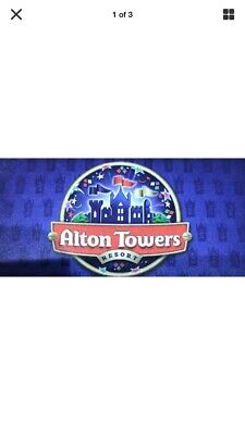 2 Alton Towers Tickets 17th October 2019