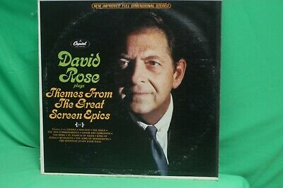David Rose - Themes From the Great Screen Epics - Capitol Records