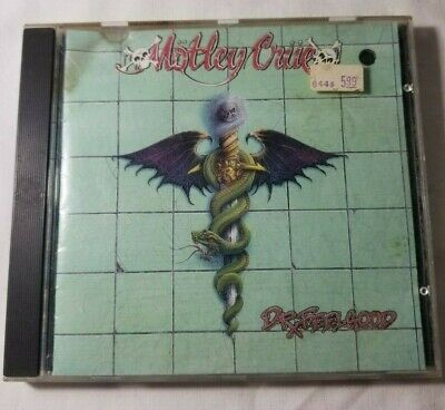 Dr. Feelgood by Motley Crue (CD, 1989, Elektra)