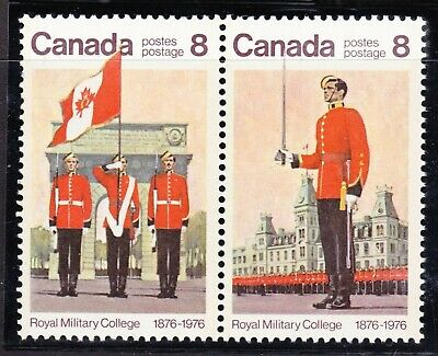 CANADA NO 693a (692, 693) ROYAL MILITARY COLLEGE CENTENARY,   MINT NH