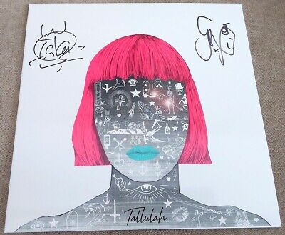 FEEDER - Tallulah - Limited White Vinyl Record - Autographed Signed - NEW