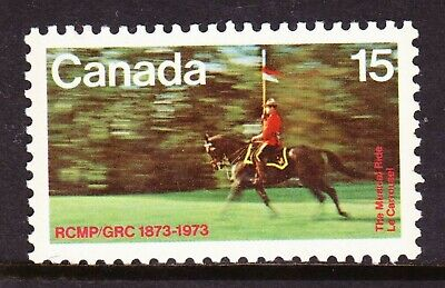 Canada No 614, Royal Canadian Mounted Police (Rcmp) Centenary, Mint Nh